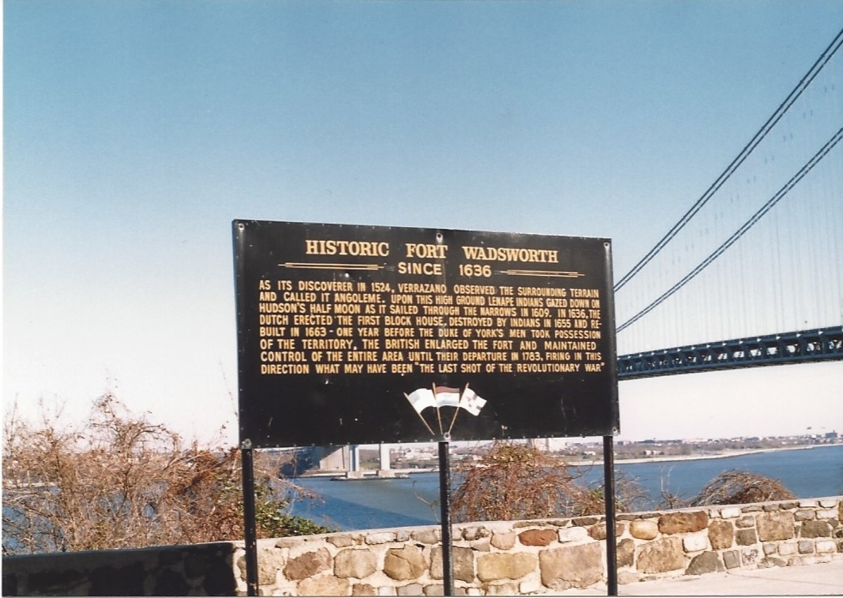 The history of Fort Wadsworth, Staten Island