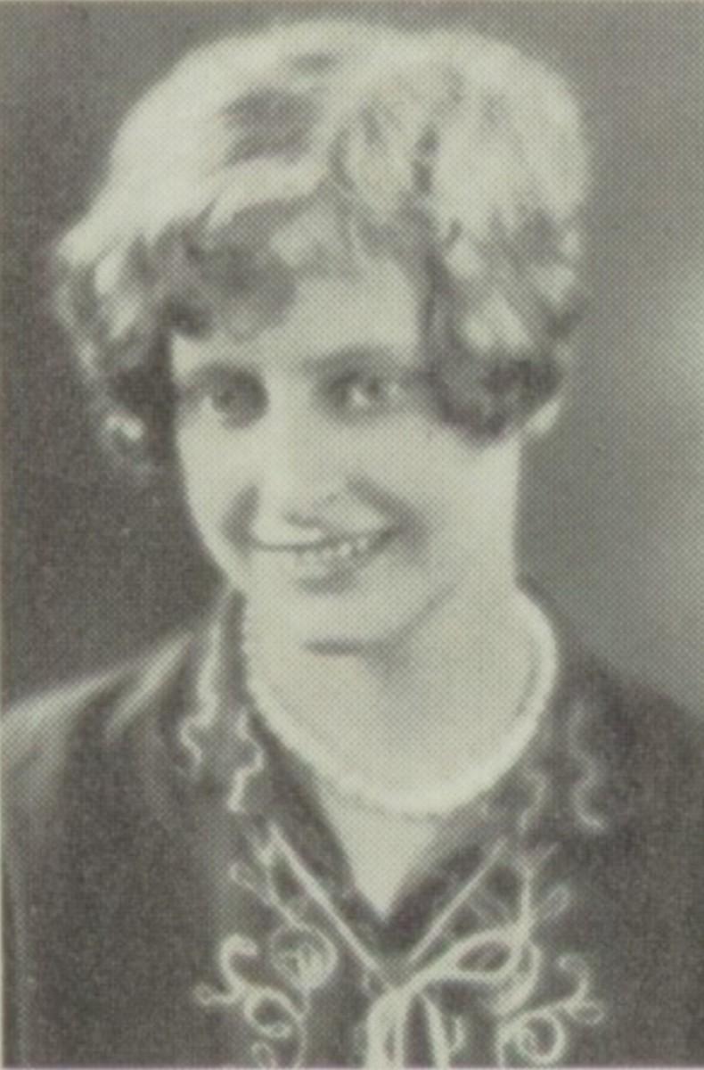 My great-grandmother, Helen Bra******** Pur***** McK**