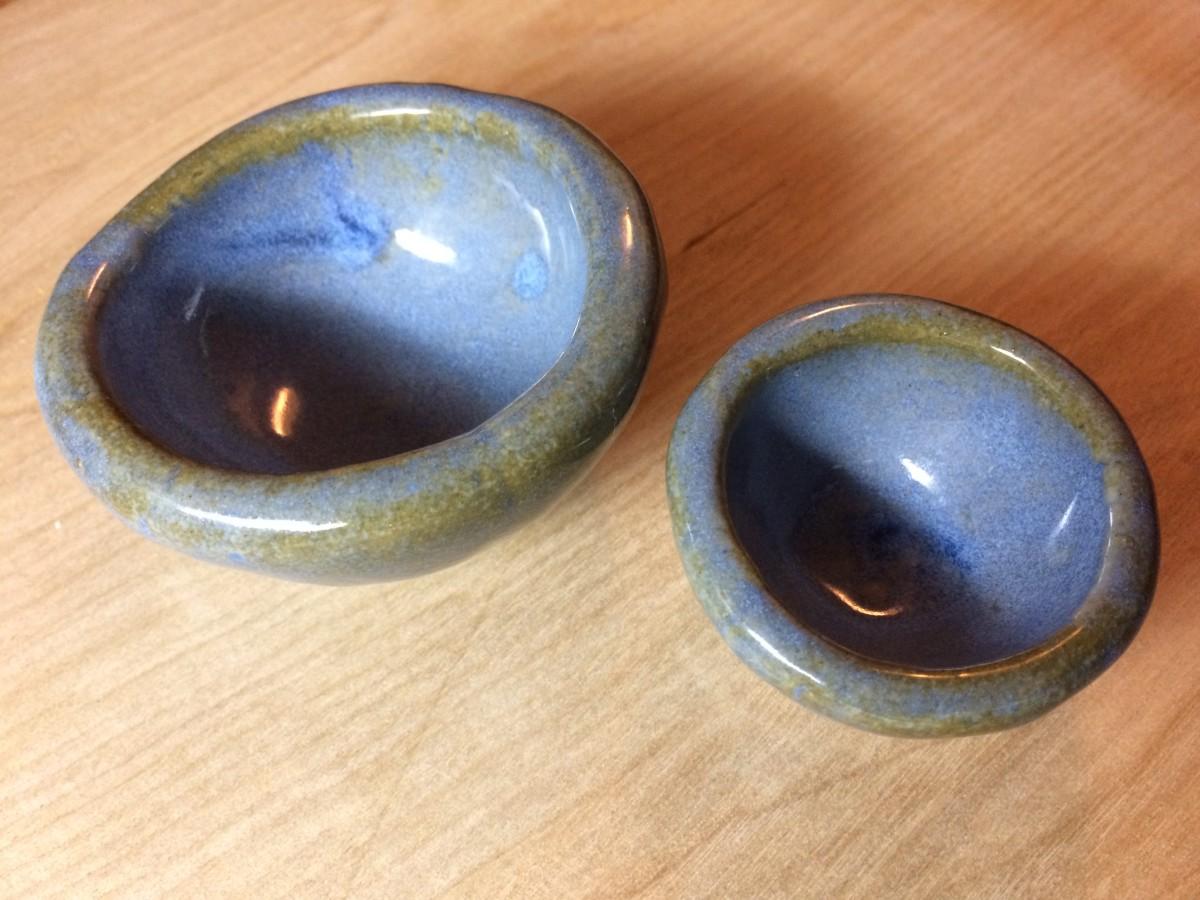 I Glazed All of My Pots Blue