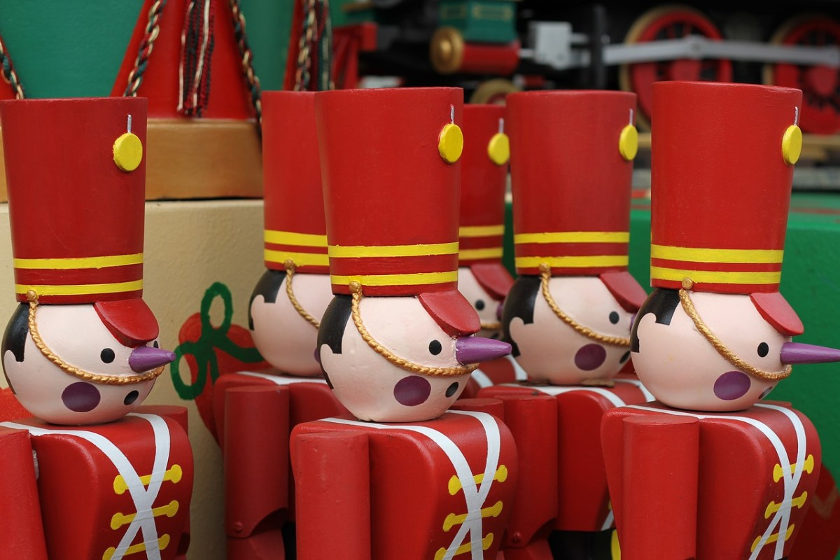 Wooden Toy Soldiers