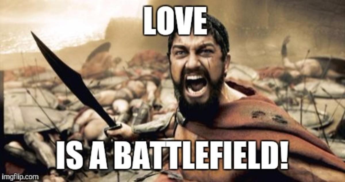 Love upon a Battlefield