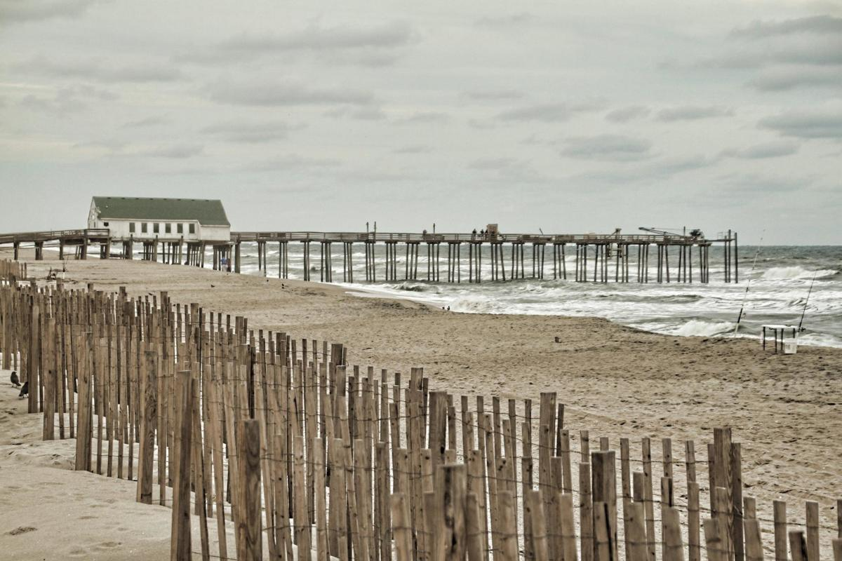 The beach at Kitty Hawk, N.C.