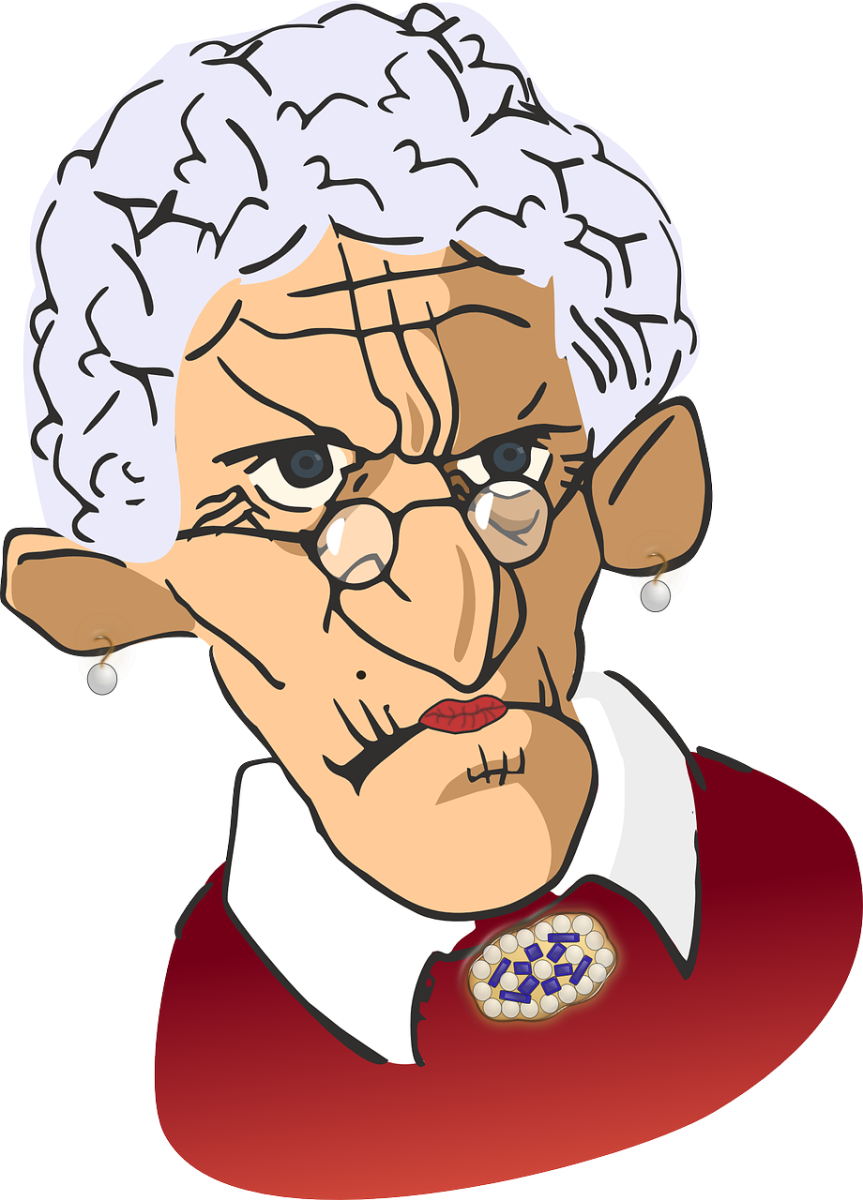 The Disgruntled Granny.