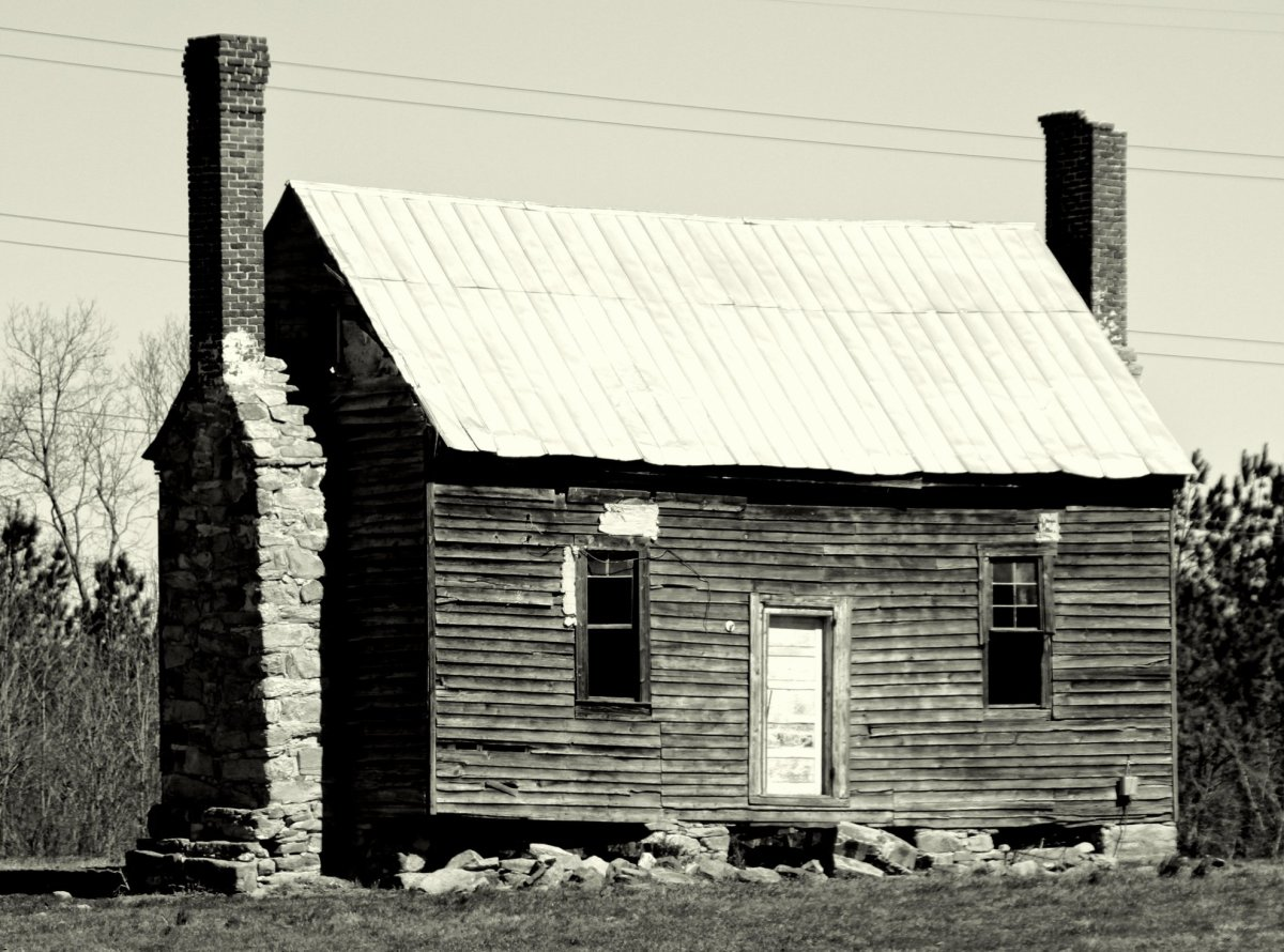 A very old house from central North Carolina.