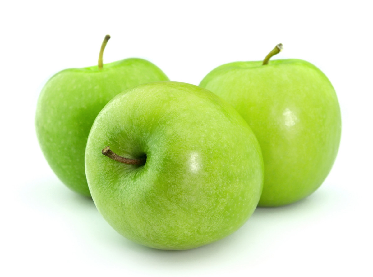 Green Apples: Great Eating.