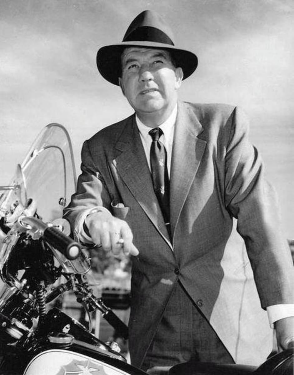 """Dan Matthews,"" Broderick Crawford,  was the star of ""Highway Patrol."""
