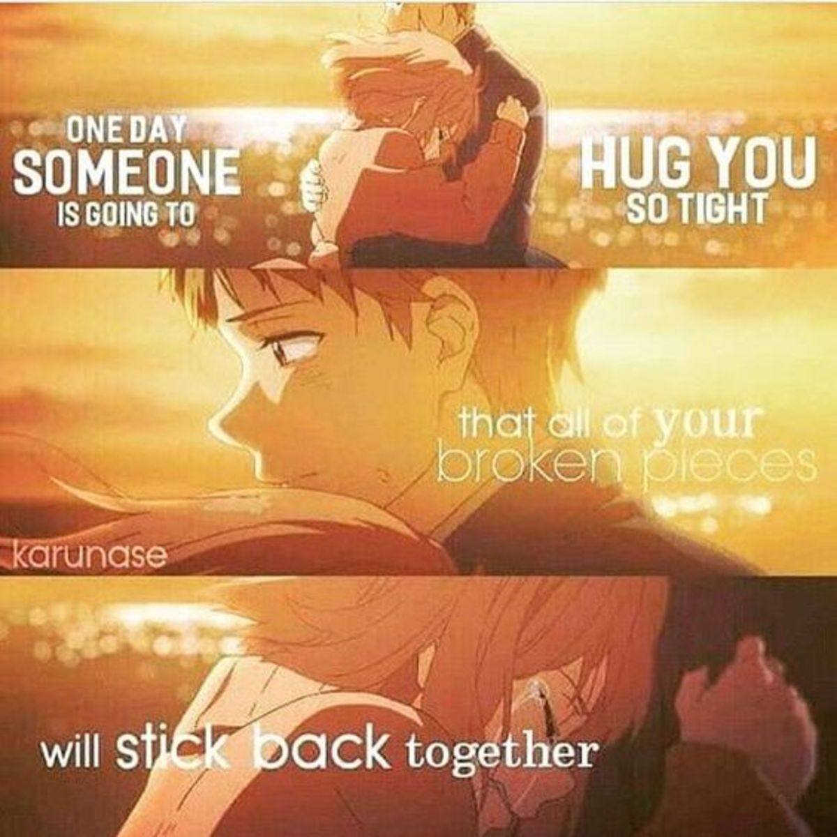 """I wish it's you"" :)"