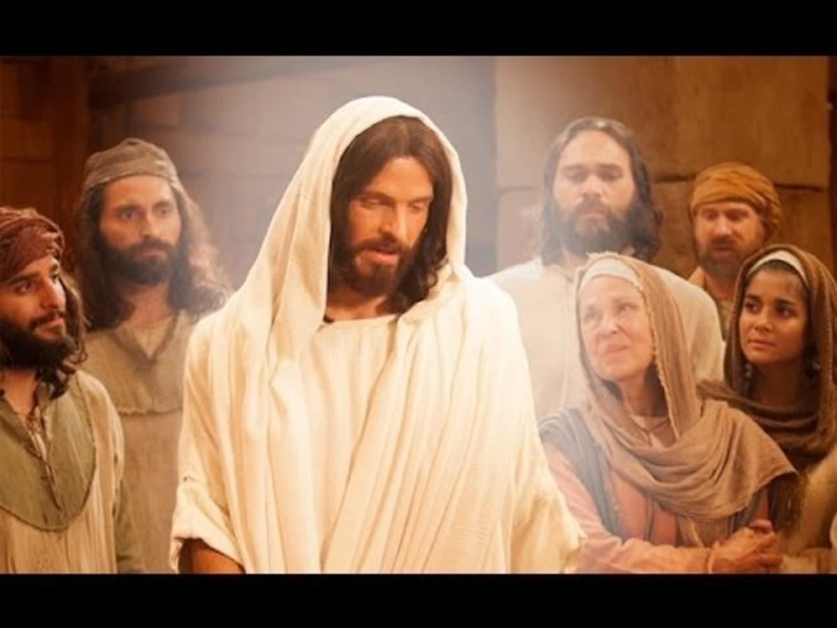 People Surrounding Jesus