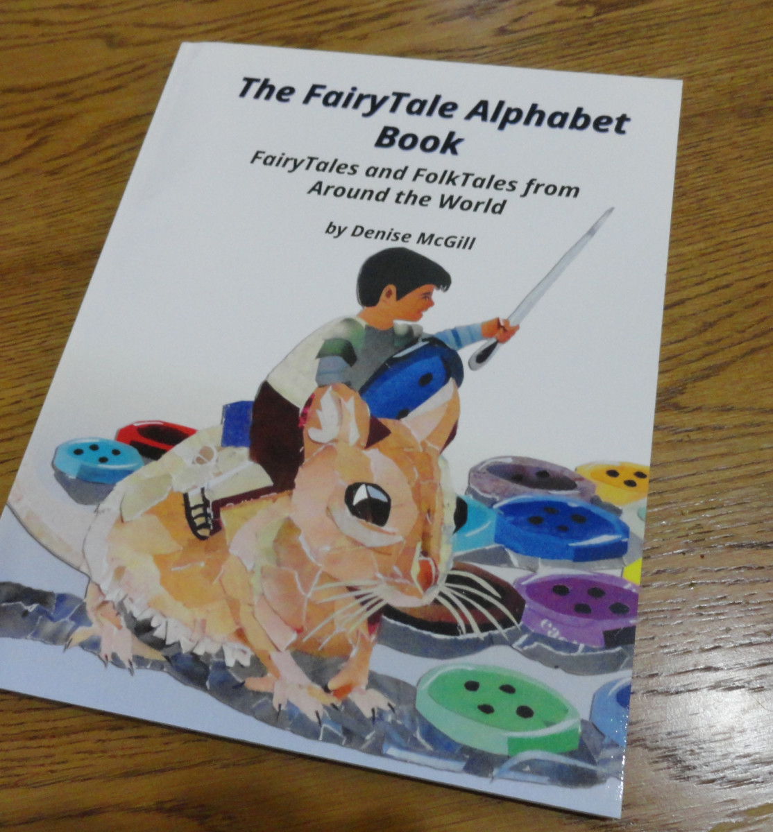 My published FairyTale Alphabet Book cover.