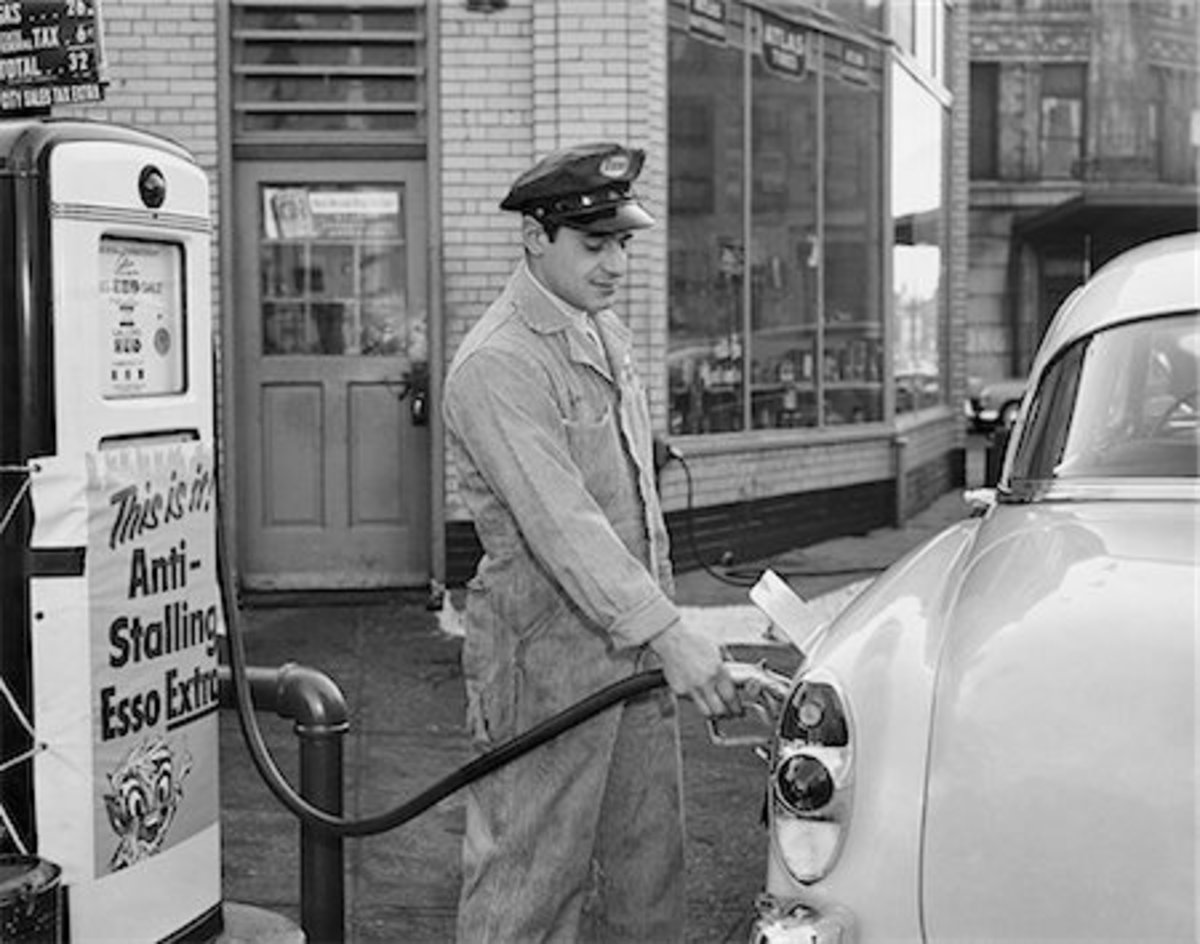 Gas station attendants were about one thing:service.