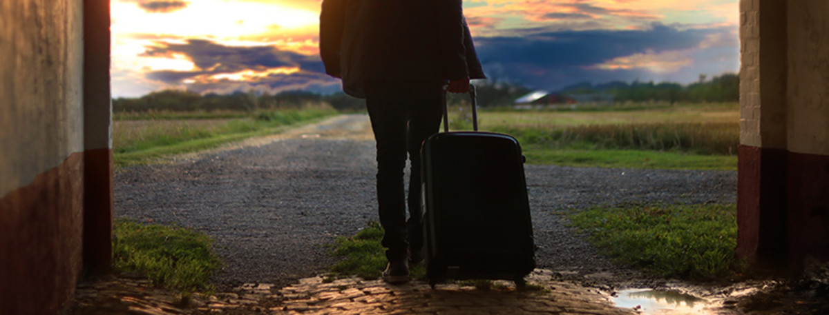 Sometimes, leaving is the best way to cope up from heartbreaks.