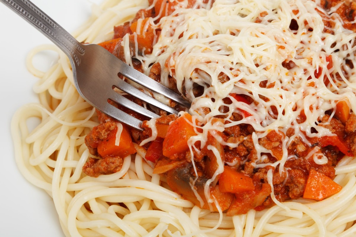DoNOT Let This Picture of Spaghetti With Sauce Influence Your Voting Below.
