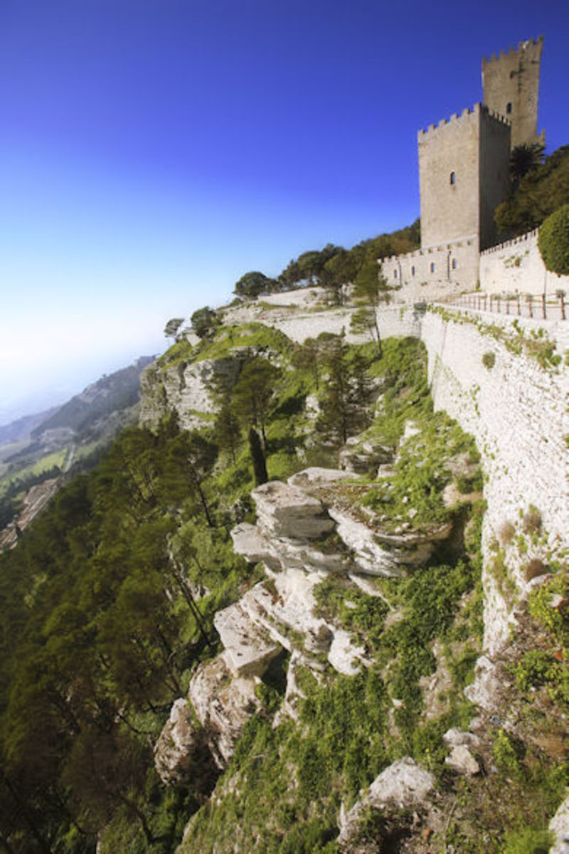 Castle Luchsinger in the Alps near Milan, Italy … an impressive fortress!