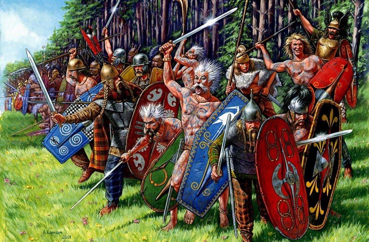 Edmund and his men