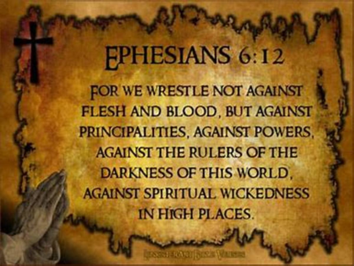 we find a specific reference to principalities in this verse