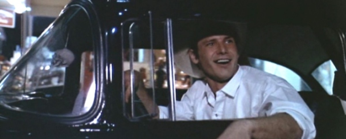 Harrison Ford - Thank god he's not really driving