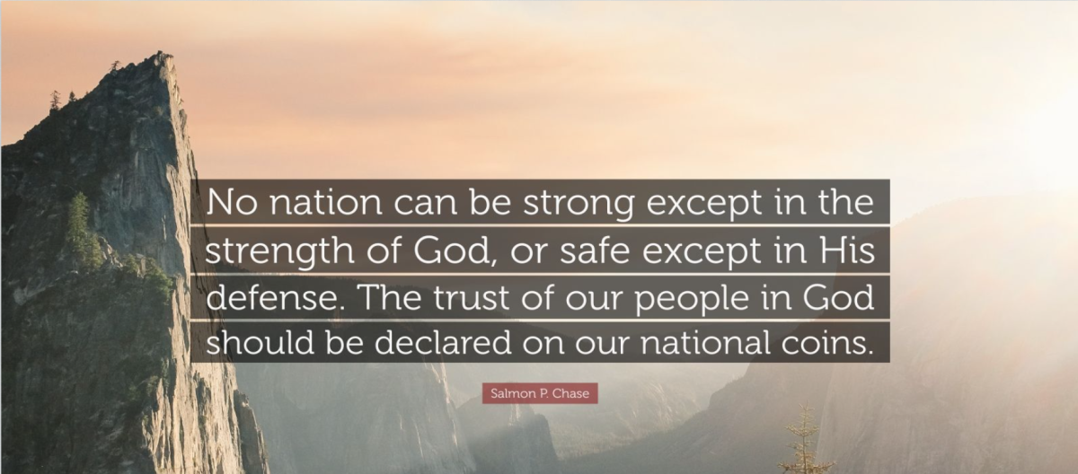 """Through one individual at a time, the United States and any nation that will trust in God can be confident and truthful in saying, """"In God We Trust."""""""