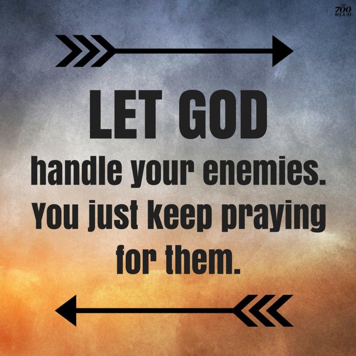 Just keep praying. (700 Club)