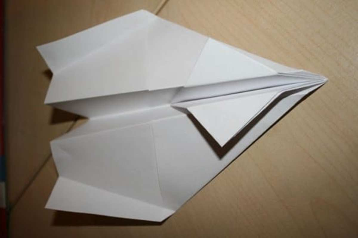 Paper Airplane Source: By ABF (Own work) [GFDL (http://www.gnu.org/copyleft/fdl.html) or CC-BY-SA-3.0 (http://creativecommons.org/licenses/by-sa/3.0/)], via Wikimedia Common