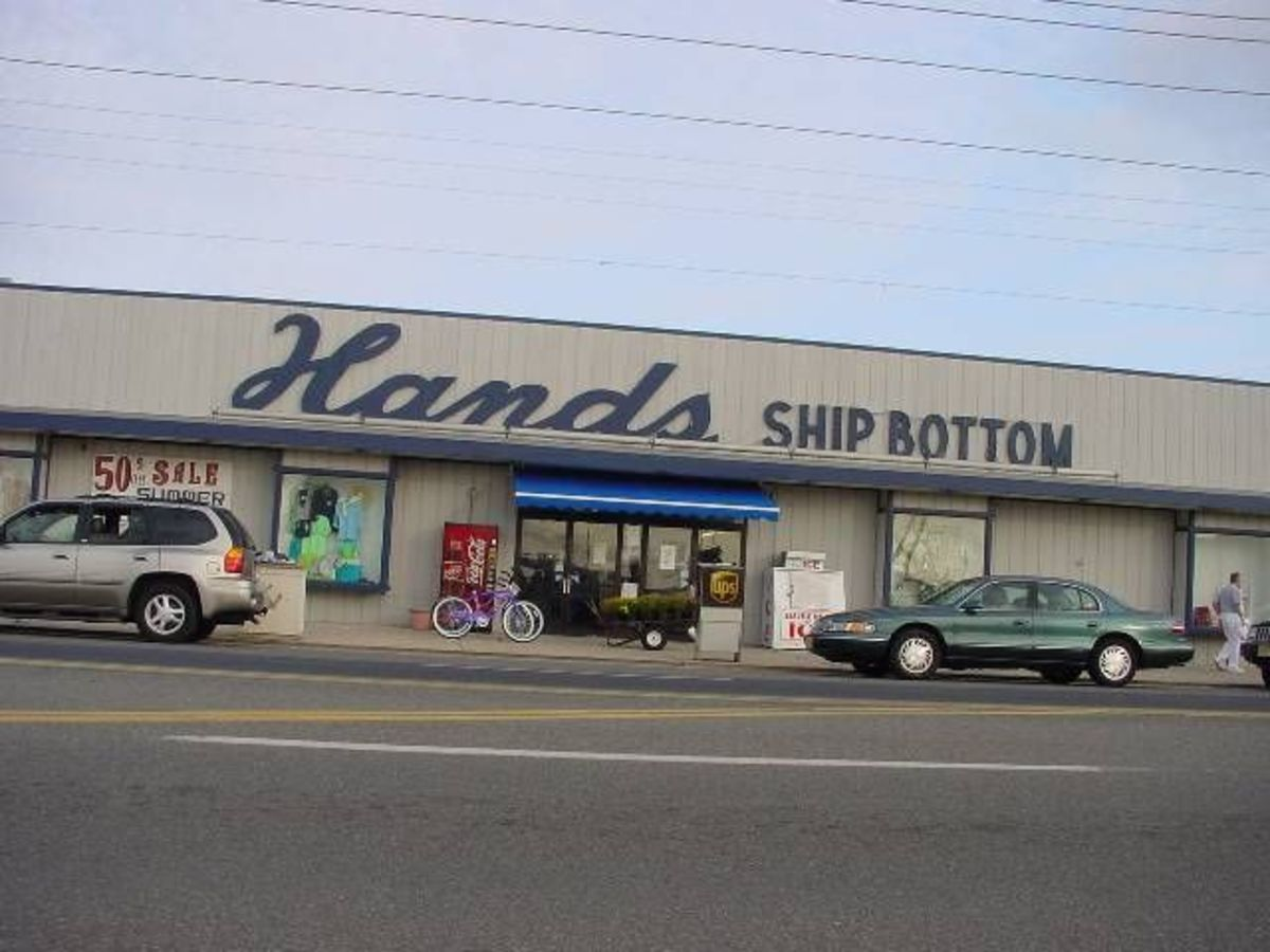 The old Hands Ship Bottom Store.