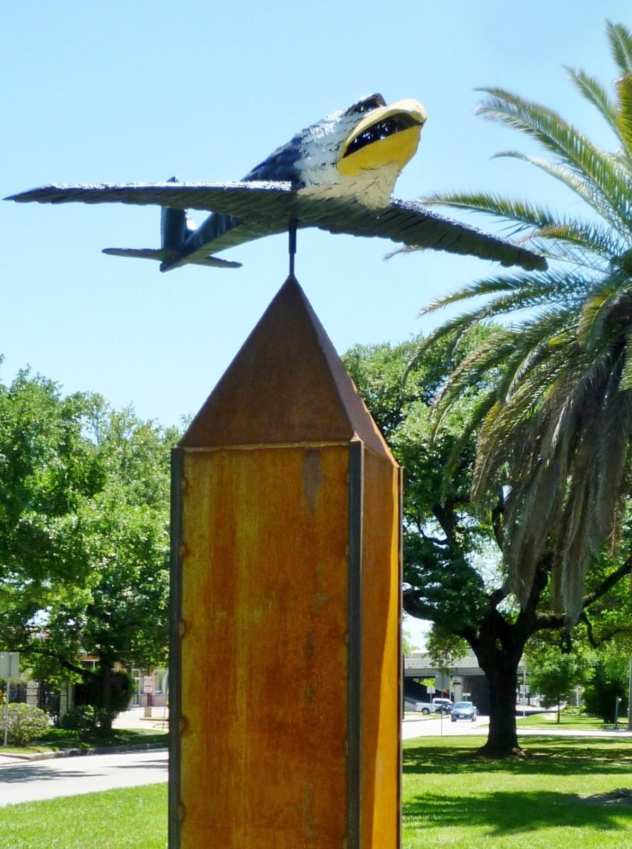 Eagle Plane 2016 by Noah Edmundson on Art Trek