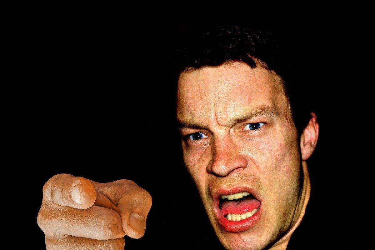 Hateful rage is verbal murder.