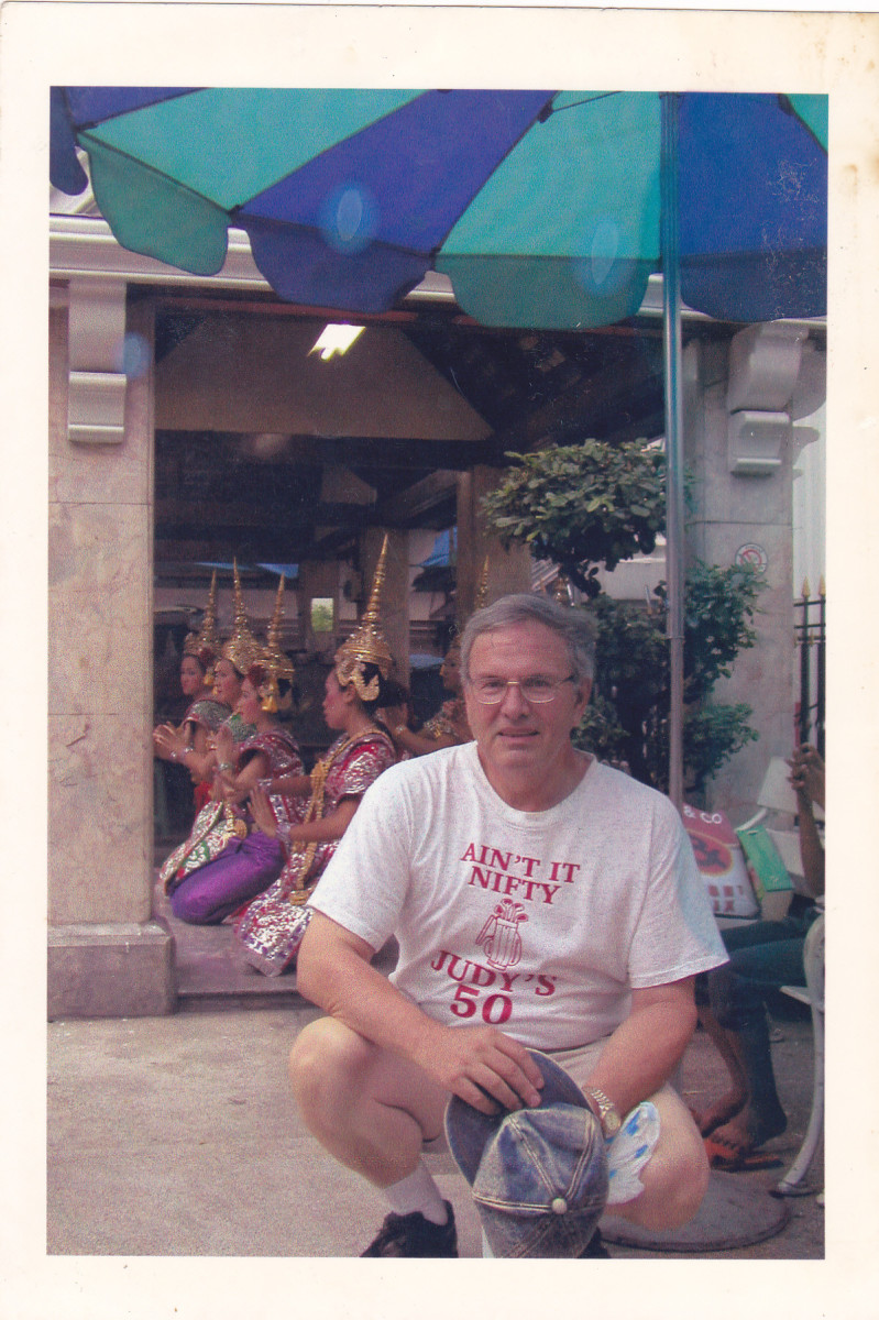 Author in Bangkok, Thailand