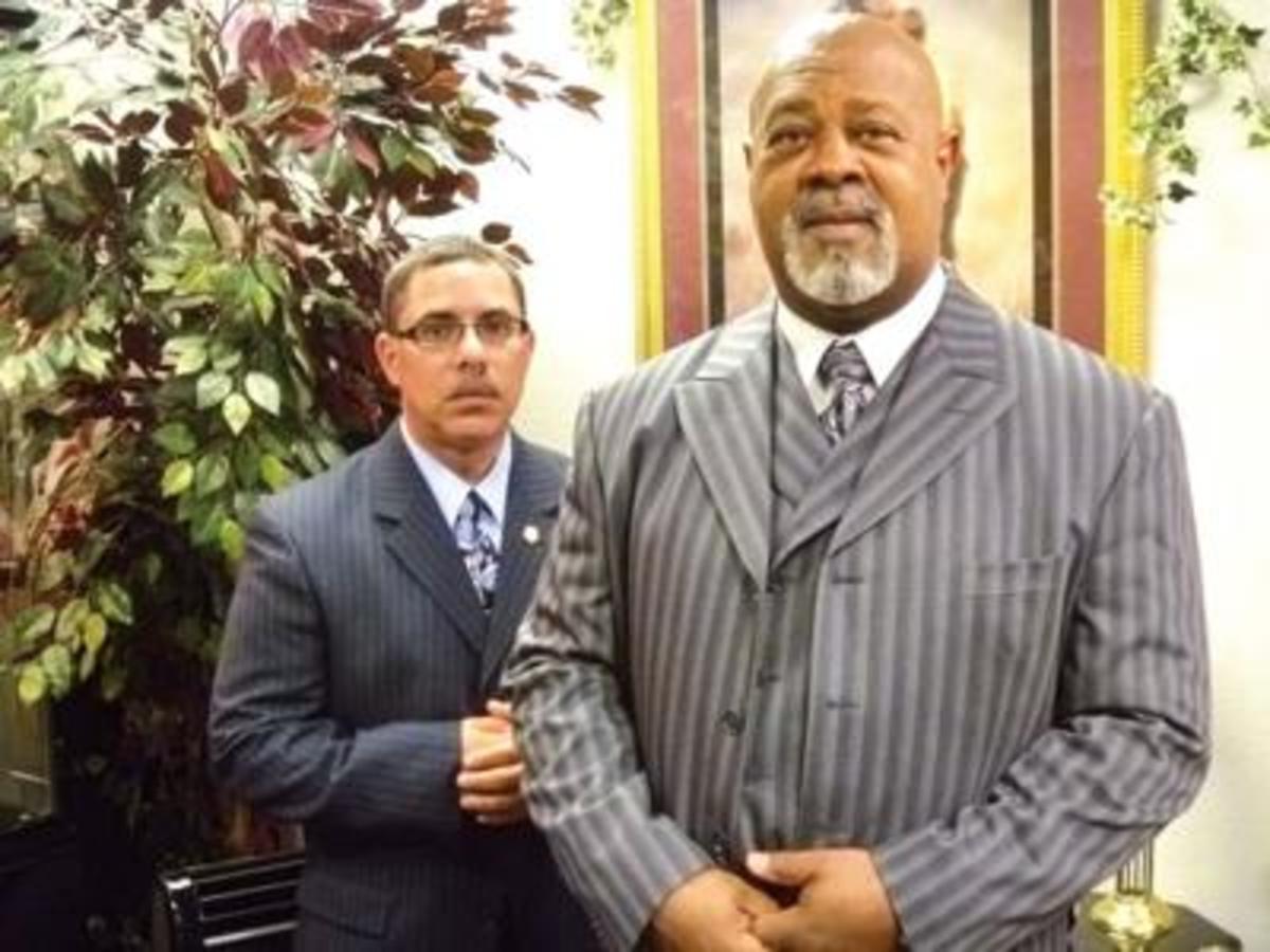 Pastor and Armor-bearer.