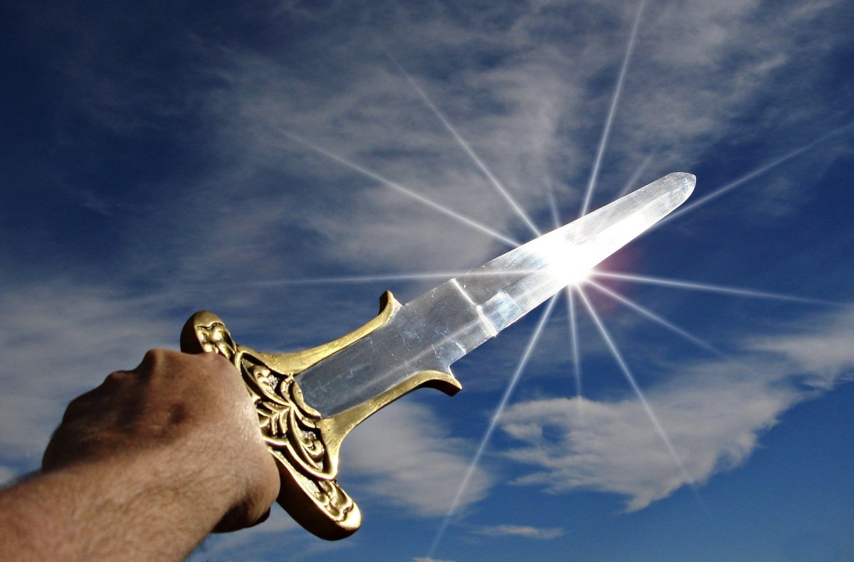 The word of God is sharper than any two-edged sword.