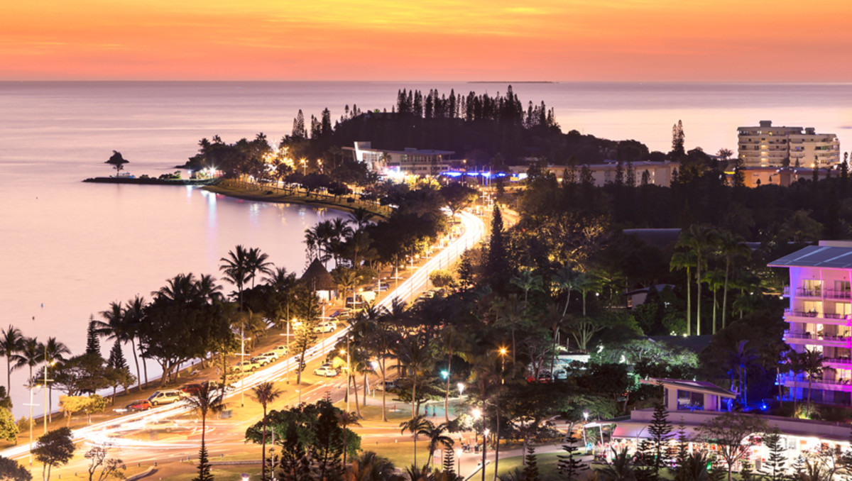 Noumea's main tourist strip
