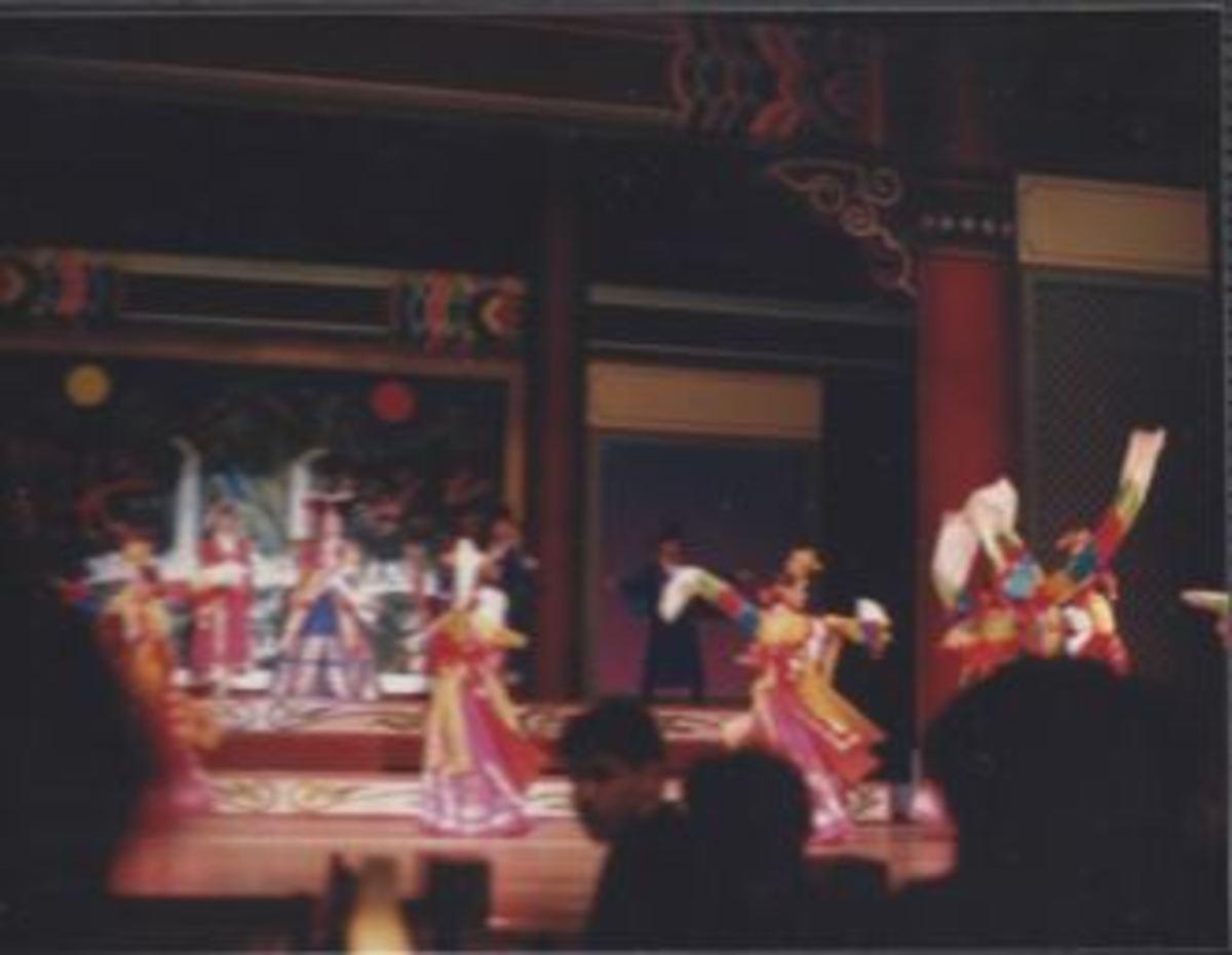 Korean Traditional Entertainment.