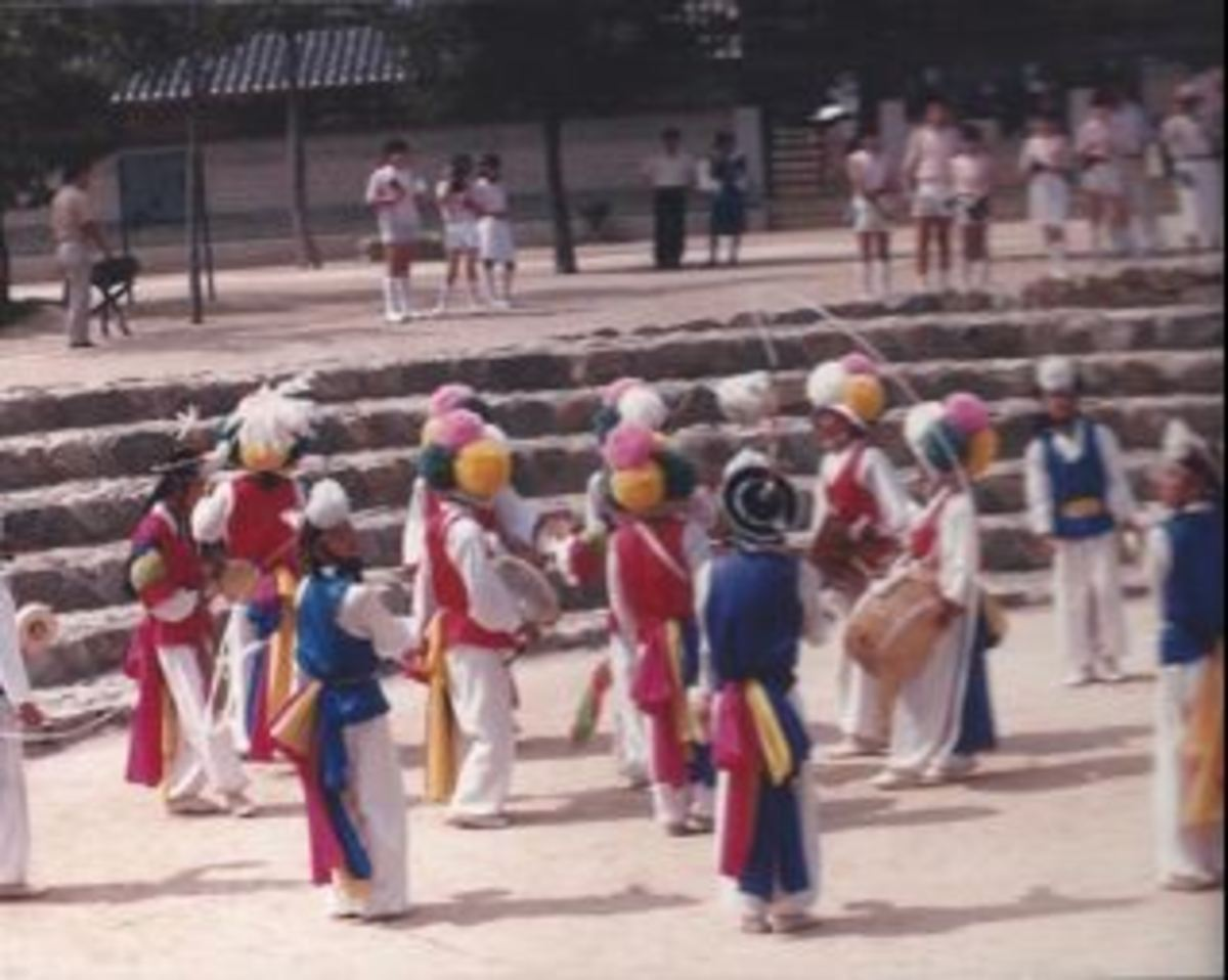 The Korean Folk Village