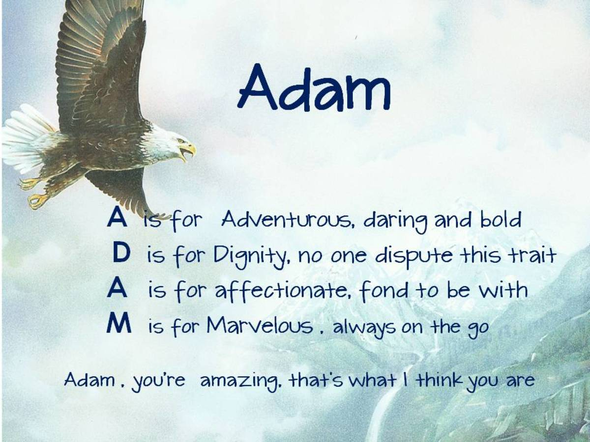 Acrostic Name Poems Hubpages
