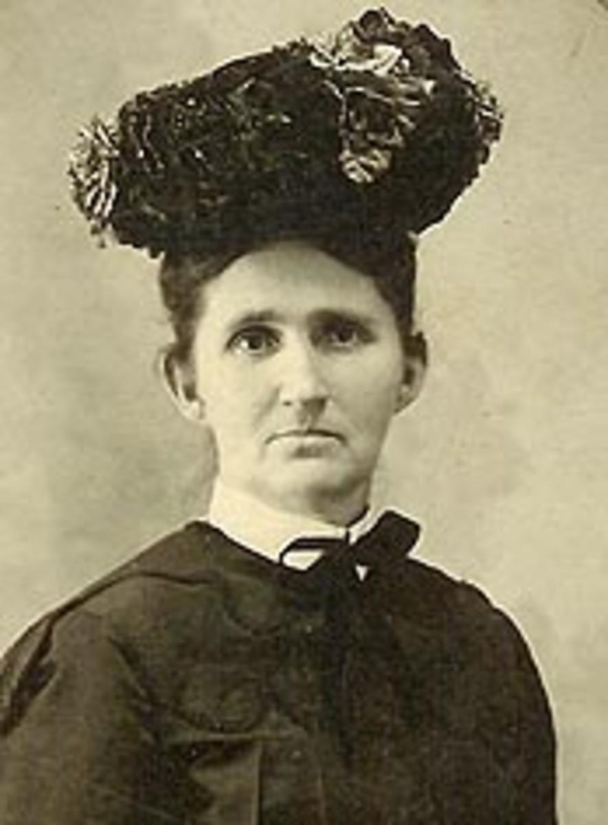 Hettie Lee (Will) Anderson, circa 1895