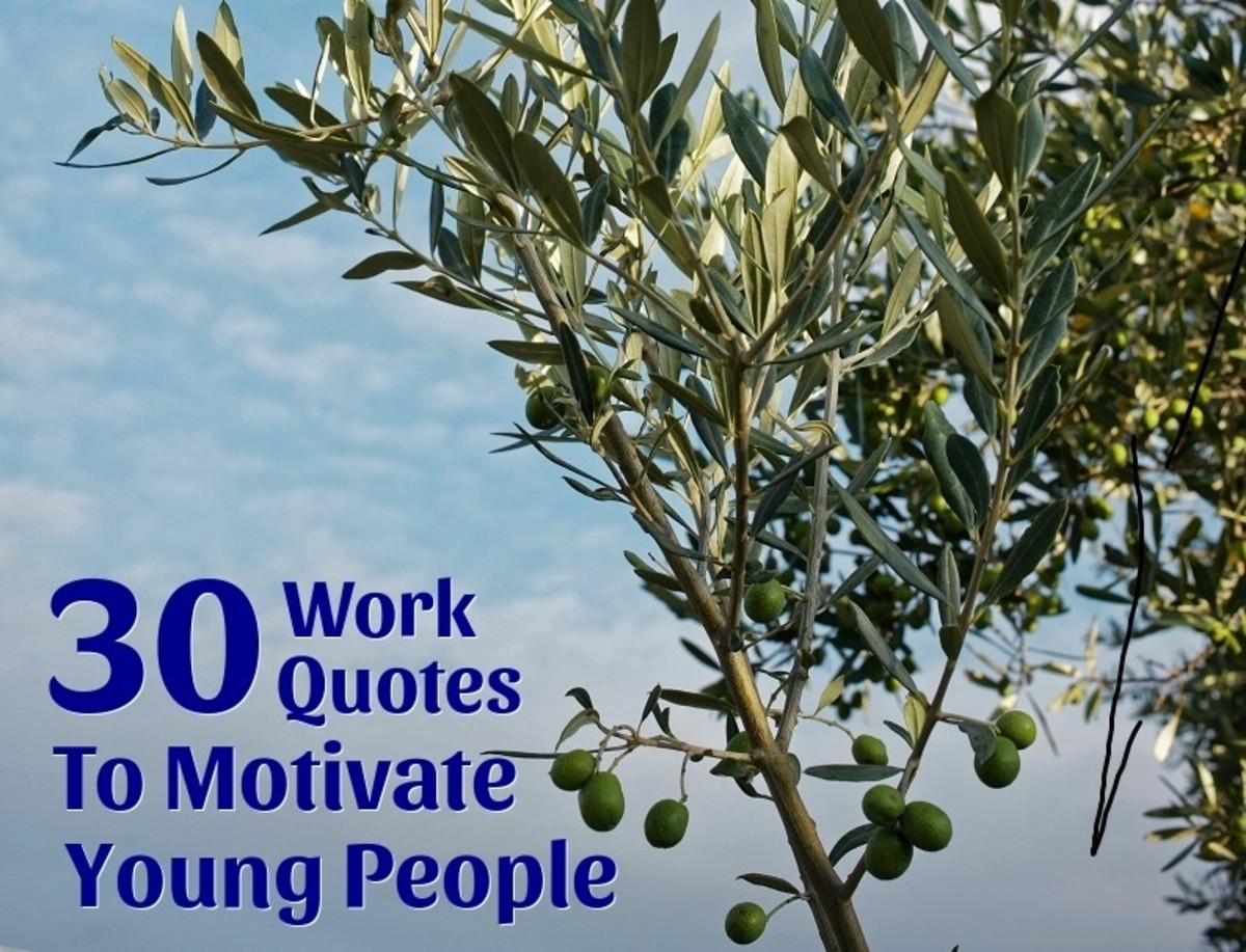 30 Work Quotes to Motivate Young People