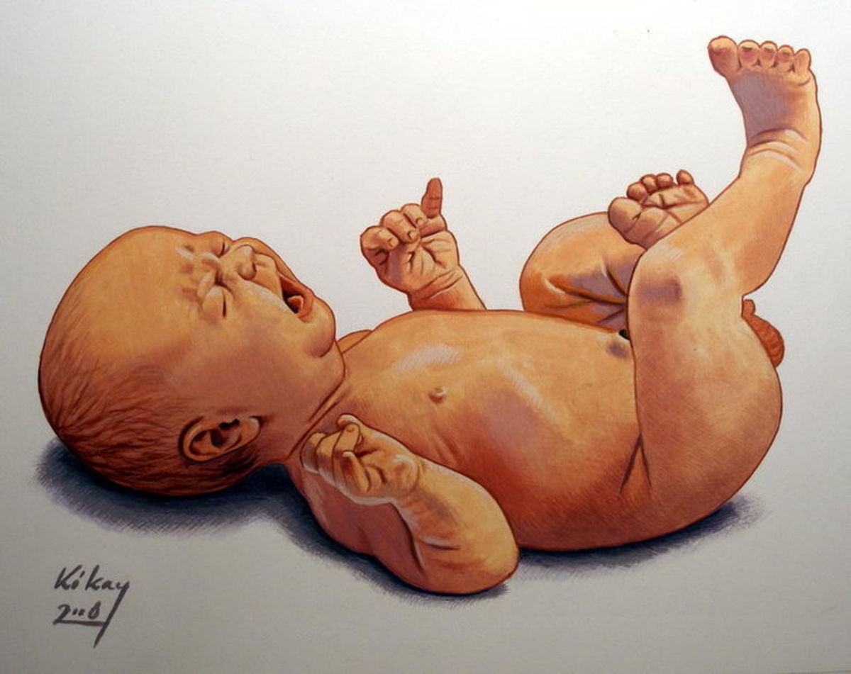 Newborn Son