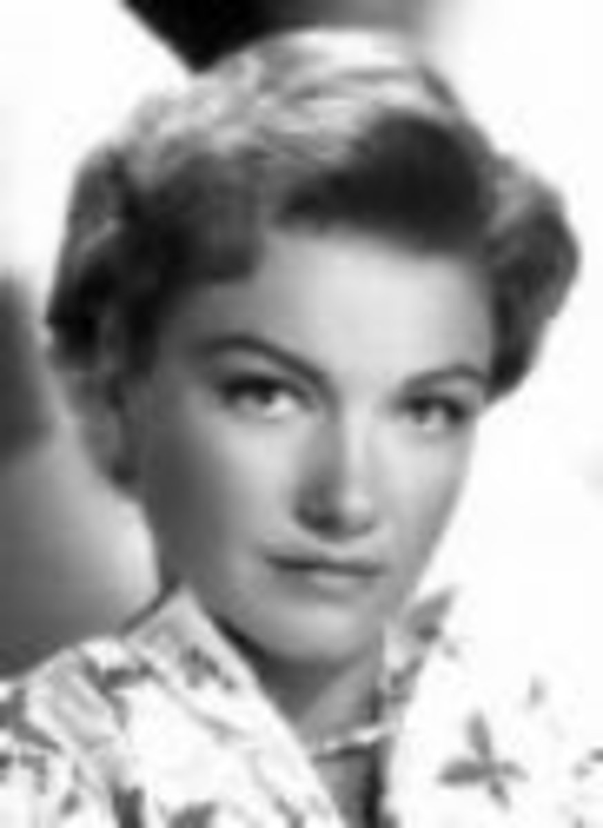 Maginel's Mother - My Memories of Anne Baxter