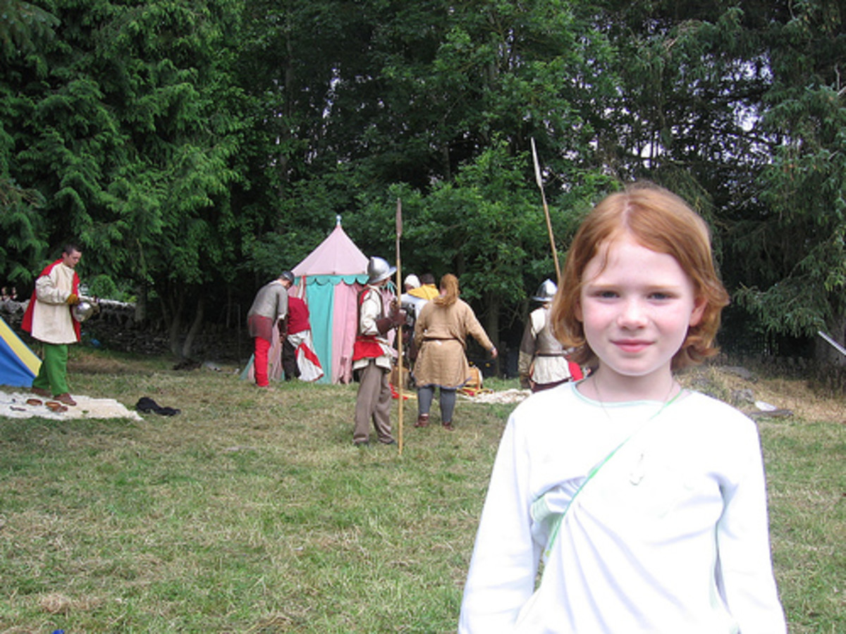Not me, but a close resemblance Cute little redhead girl