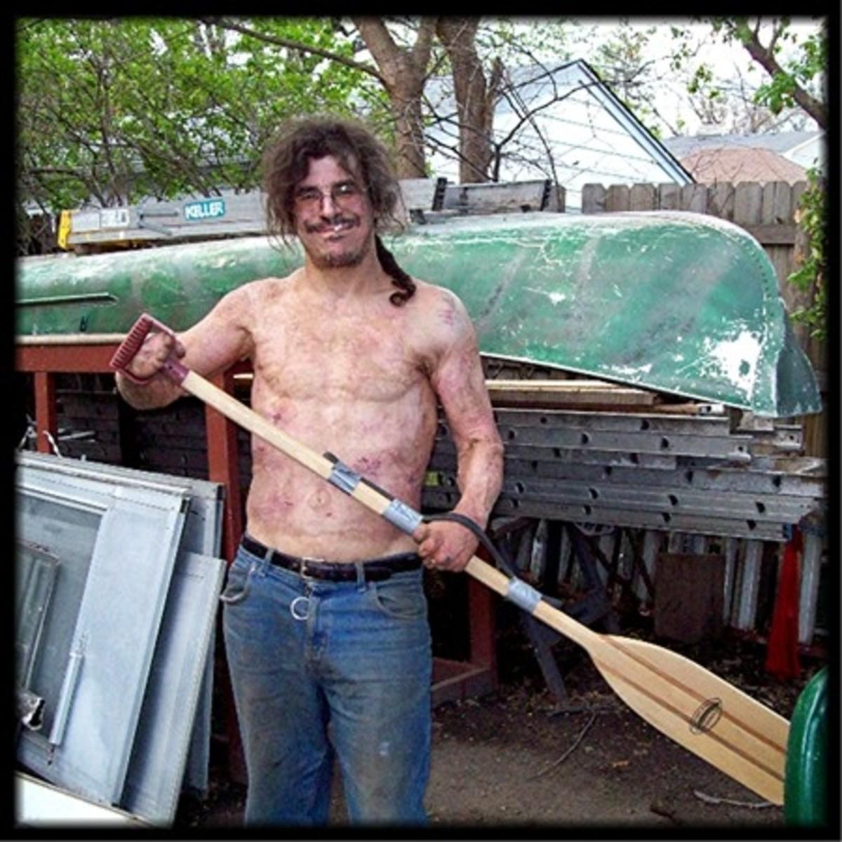 Canoe Paddle Scott invented