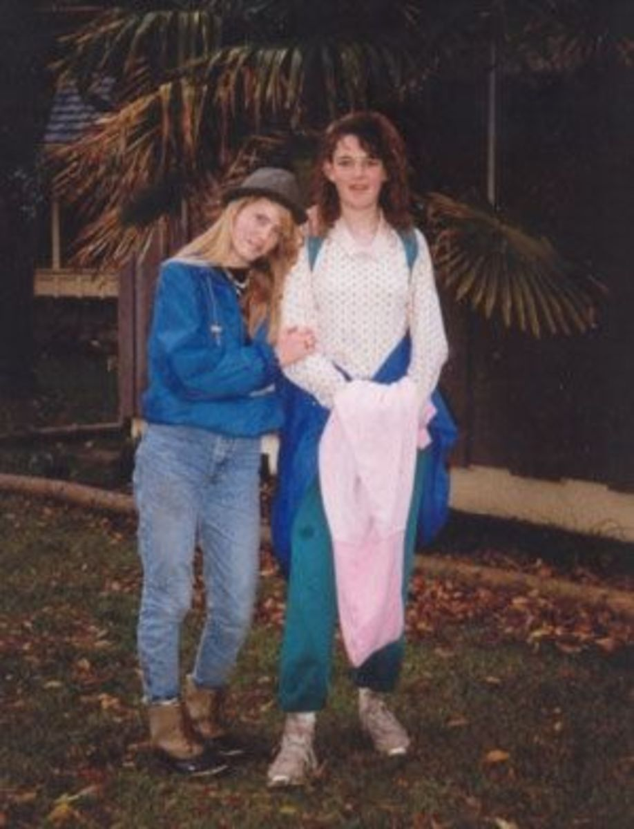 This was one of the last pictures of Sarah and Jenny together in our front yard.