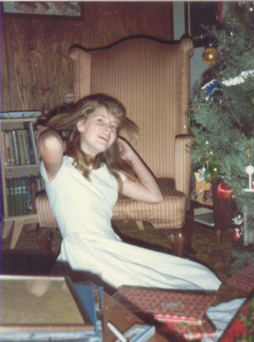 This was Sarah's last Christmas at home.