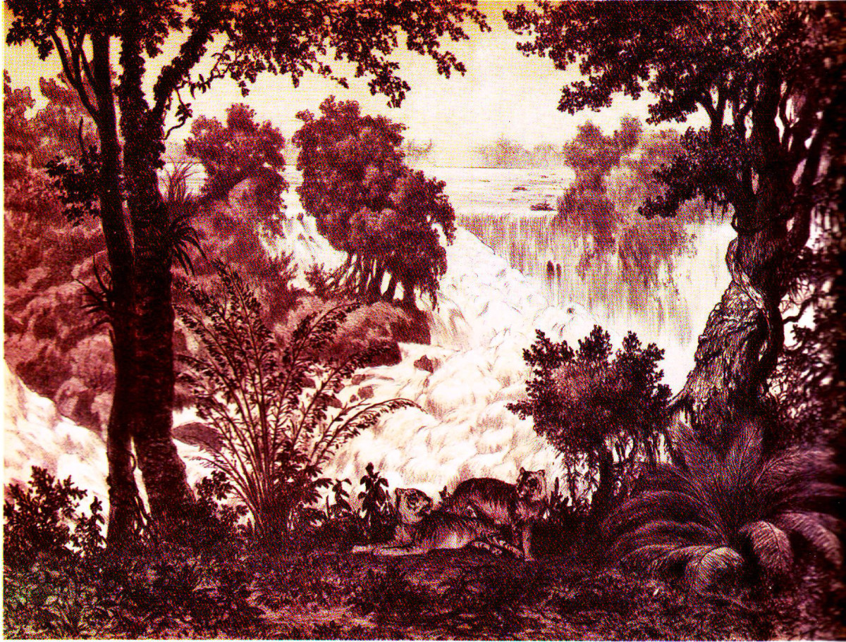 Lao Forest Painting. Courtesy Laoembassy.com