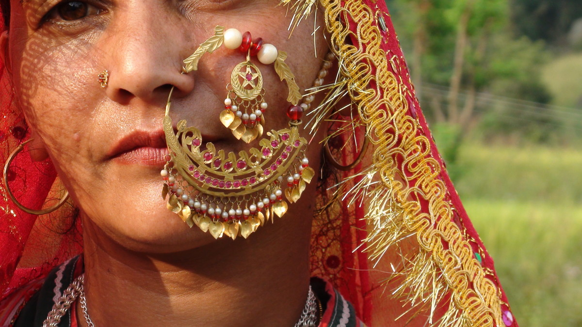 A Gold-plated Nosering