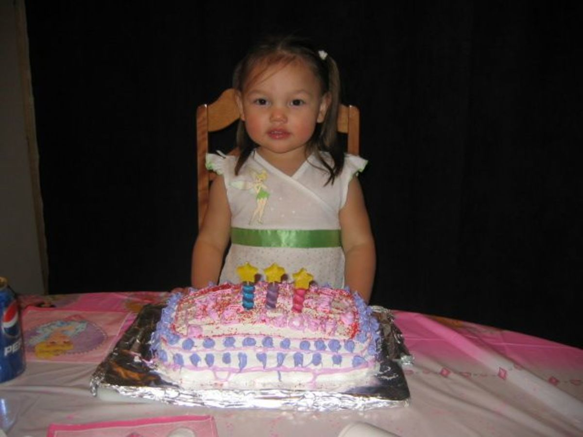 Savannas third birthday