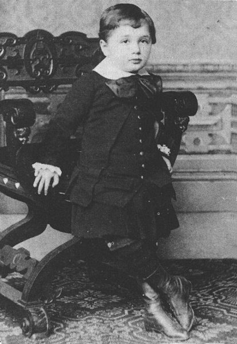 Little Einstein was known as late learner