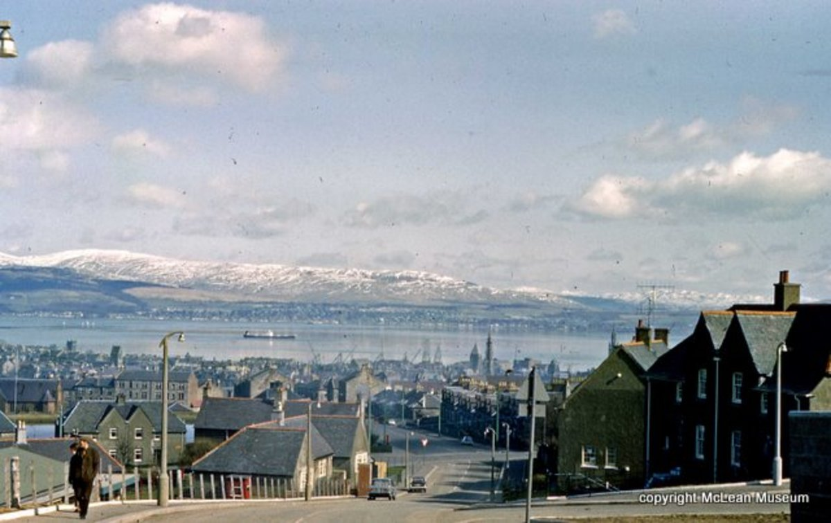 View from Peat Road, 1968