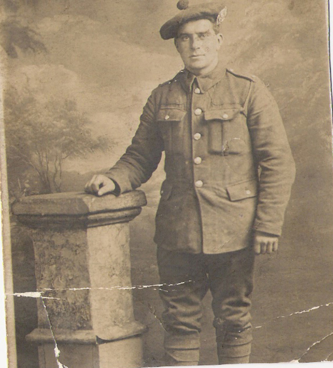 My great grandfather, Greenock, Scotland