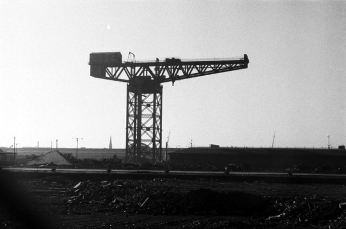finnieston crane, queen's dock