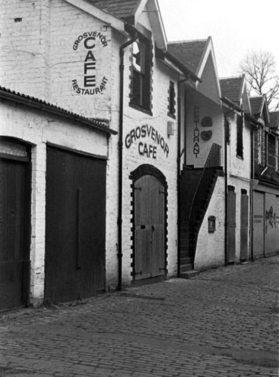 grosvenor cafe, off byres road