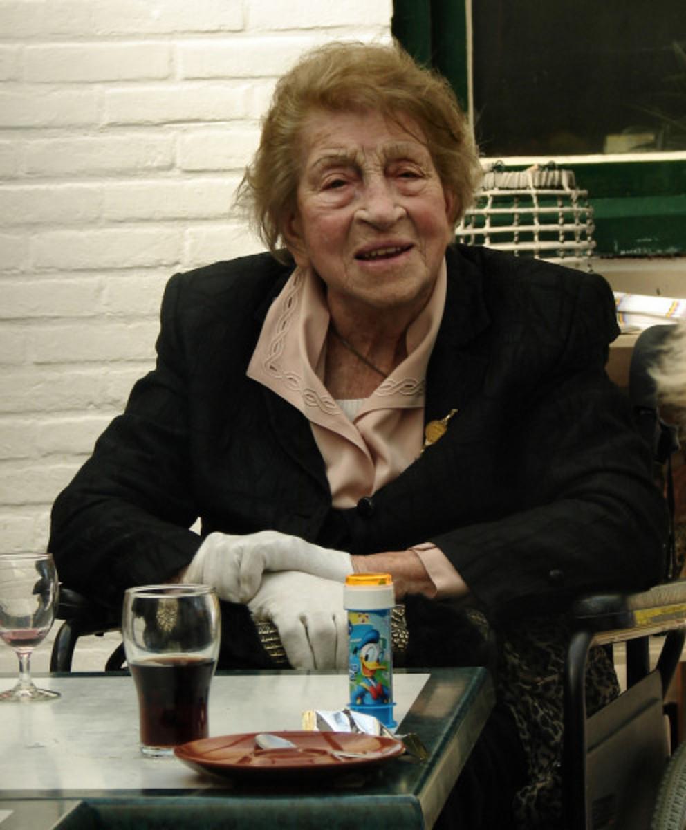 My Mom's 99th birthday